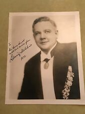 Beautiful Signed & Inscribed LAURITZ MELCHIOR 8x10 Photo Dated 1938 Autograph