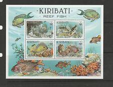 Kiribati 1985 Reef Fish MS UM/MNH SG MS236