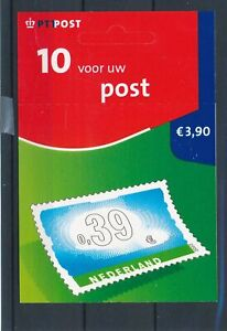 [17063] Netherlands 2002 good complete adhesive booklet very fine MNH