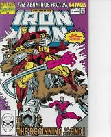 Iron Man Annual #11 Marvel Comics 1990 Bagged and Boarded