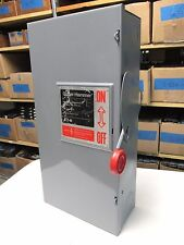 * Cutler-Hammer 100A, 600V Heavy Duty Safety Switch Cat# DH363FGK ..  DS-732