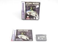 Star Wars Flight Of The Falcon Nintendo Game Boy Advance Boxed PAL