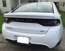 2013-2016 DODGE DART SMOKE TAIL LIGHT TINT COVER SMOKED OVERLAYS