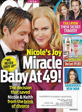 OK! Magazine - January 30, 2017 - Nicole Kidman & Keith Urban, Casey Affleck