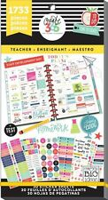 Create 365 The Happy Planner mamBi Value Pack Stickers TEACHER BIG PPSV-14 NEW!