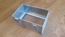 """Super"" Glavanized Rabbit or Small Animal Feeder.  26 ga. 3"" x 5"" x 2 1/4"""