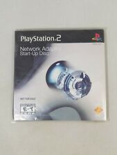 SONY PLAYSTATION 2 PS2 NETWORK ADAPTER START-UP DISC AND MANUAL