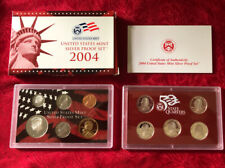 2004United States Mint Silver Proof Set with COA