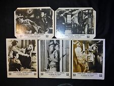 LE TRESOR DU PENDU robert taylor   jeu photos cinema lobby cards western 1958