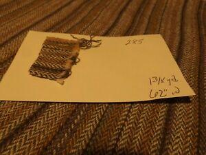 Stripe & Tweed Design Multi-Colored Poly-Wool Fabric