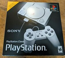 Sony PlayStation Classic Gray Console Mini 20 Games Authentic New Sealed PS1 One