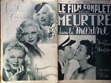 """LE FILM COMPLET 1936 N 1878 """" MEURTRE DANS LA MARINE """" avec JEANNE PARKER"""