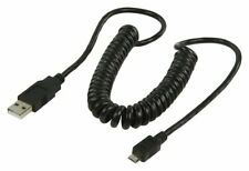 Ex-Pro® Coiled Hi-Speed USB Micro B Cable 4 PIN USB Type A (M) - Type B (M) 2m