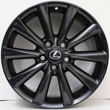17 inch Genuine Lexus IS250 Luxury 2010 Model Wheels in custom charcoal grey