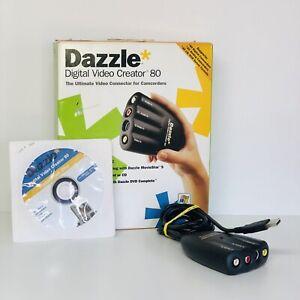 Dazzle Multimedia Digital Video Creator 80 DVC-80 with software DVC-80