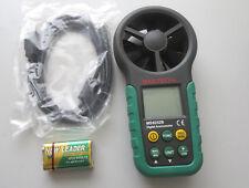 MASTECH MS6252B Digital Anemometer Air Wind Speed Velocity Meter