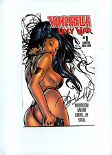 Vampirella: Holy War #1 Ltd Ash Can Ed - Harris Comics 1998 - Signed VFN/NM