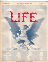 1899 Life - September 28 - Dreyfus again found guilty; Pulitzer and Hearst;Dewey
