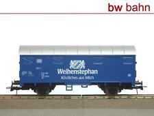 Roco H0 Gedeckter Güterwagen Gs DB Weihenstephan Milch Sondermodell Neu