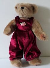 Ty 1993 13 Inches Brown Bear Stuffed Animal Plush Toy