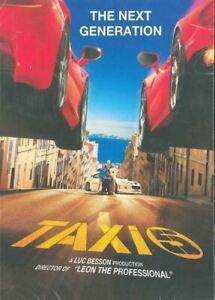 Taxi 5 (2018) DVD R0 PAL - Franck Gastambide, Malik Bentalha, French, Eng Subs