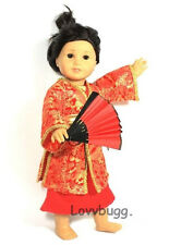 "Madame Butterfly Asian Costume Set  for 18"" American Girl Doll Lovvbugg! Wow!"