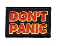 Don't Panic Hitchhiker Galaxy Operator VELCRO® BRAND Hook Fastener Patch