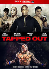 Tapped Out (DVD ONLY, NO Digital Copy, UFC film, Anderson Silva, 2013, 2014)
