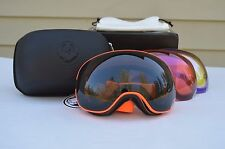 2016 NIB DRAGON APX2 SAFETY SNOWBOARD GOGGLES $270 dark smoke yellow blue rose
