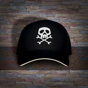 Retro Anime Space Pirate Captain Harlock Herlock Jolly Roger Embro Cap Hat