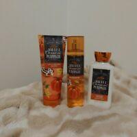 Bath & Body Works Sweet Cinnamon Pumpkin Combo