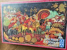 F X Schmid Russian Treasure 1000 Piece Jigsaw Puzzle Sealed