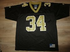 80b4325d011 Ricky Williams #34 New Orleans Saints NFL adidas hype beast Jersey LG L  Rookie