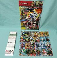 Lego Ninjago Serie 5 Trading Card  Starterpack + alle 252 Karten komplett Set