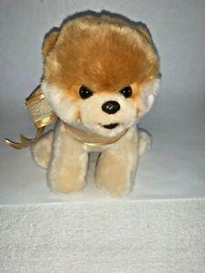 "New Gund Boo The World's Cutest Dog 9"" Plush Toy w/ Ribbon Bow 4029715"