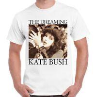 Kate Bush Vintage Style Dreaming Hounds Love Kick Inside Unisex T Shirt 594