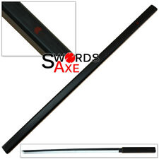 Wooden Ninja Katana Sword Japanese Anime Replica Manga Weapon Grass Cutter Black