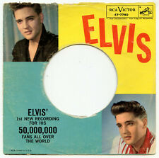 Elvis Presley USA SLEEVE ONLY RCA 47-7740 Stuck On You 1960 VG