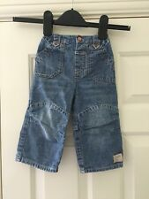 George Boys Blue Denim Jeans Size 9-12 Months