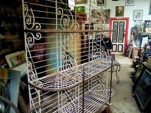 Antique Boulangerie baguette display stand