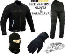 Combinaisons de motocyclette noirs en cuir, taille S, pour homme