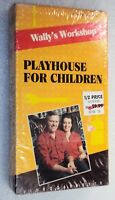 WALLY'S WORKSHOP PLAYHOUSE FOR CHILDREN New VHS Instructional How-To Build Video