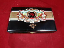 MY FATHER CIGARS CT ROBUSTOS WOOD CIGAR BOX