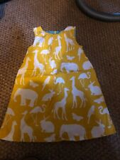 Boden pinafore 4-5 worn once