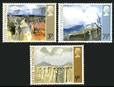Great Britain 648-650, MNH. Paintings from Northern Ireland, 1971