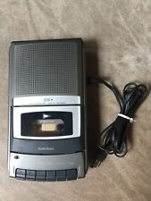 RadioShack Ctr-120 Portable Desktop Audio Cassette Voice Recorder Player Euc