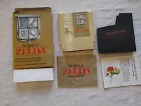 The Legend Of Zelda CIB With Map Manual Box NES Nintendo RARE