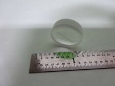 OPTICAL MEASURING MICROMETER RETICLE LENS LASER OPTICS AS IS B#B1-F-A-10A