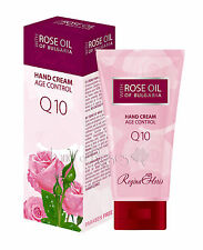 ROSE OIL OF BULGARIA HAND CREAM AGE CONTROL WITH BULGARIAN ROSE OIL AND Q10