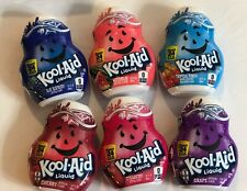 ~Kool-aid Drink Mix 6 Pack Variety Strawberry Grape Cherry Tropical Punch~